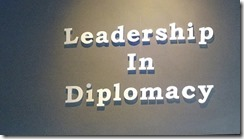 Leadership Diplomacy